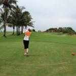 久しぶりの一人ゴルフ