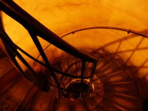 凱旋門の階段